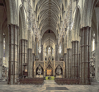 GOTIČKA ARHITEKTURA Westminster-abbey